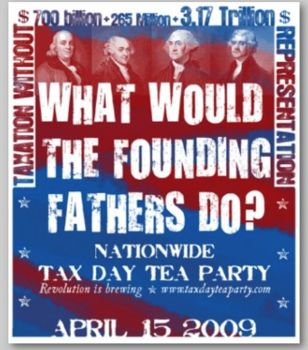 Founding fathers tea party