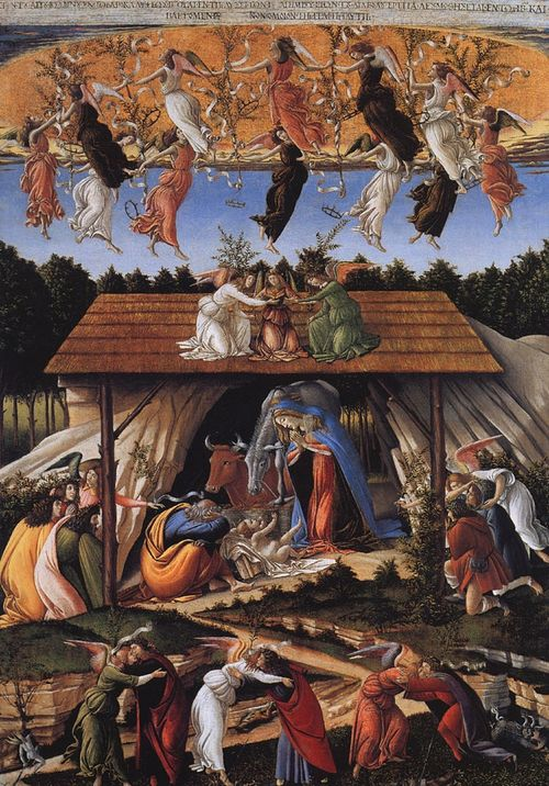 Lifezine mystic_nativity-Botticelli
