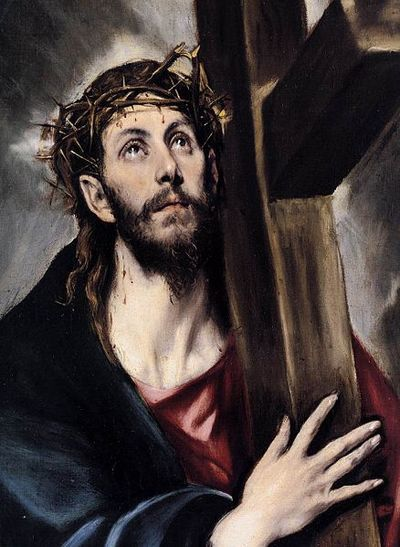 Jesus carrying the Cross El Greco 1580