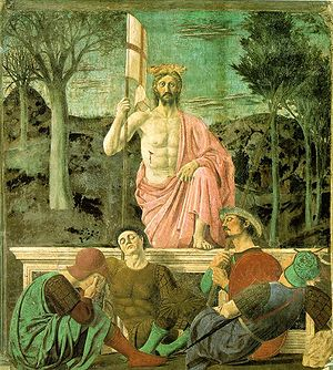 Resurrection piero della francesca, 1460