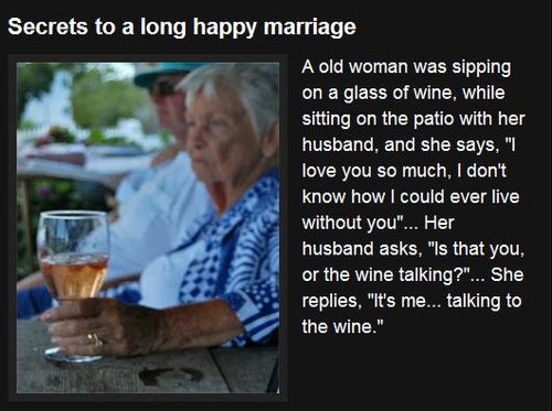 Marriage secret