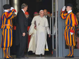 Pope swiss guard