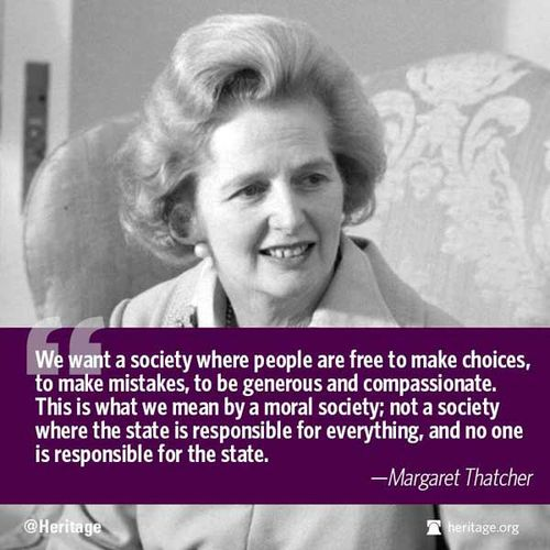 Thatcher quote