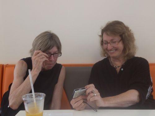 Brigid and Judy