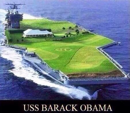 Barack Obama aircraft carrier