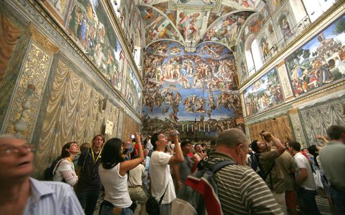 Sistine chapel Telegraph UK