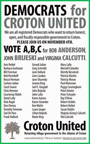 Democrats for croton united