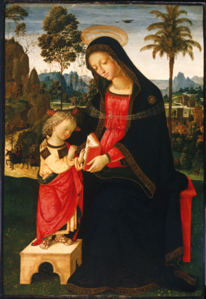 Mary mother's day image