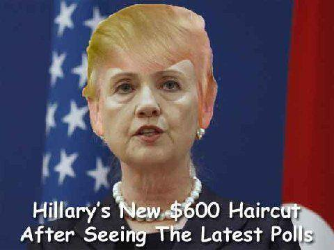 Clinton haircut
