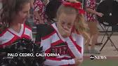 Cheerleader with leukemia