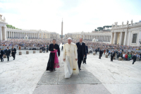 Pope at audience