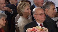 Hillary clinton at inaugural luncheon