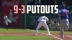 9-3 putouts