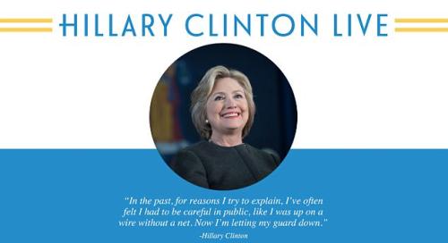 Hillary clinton live