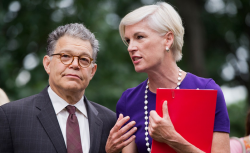 Al franken Cecile richards