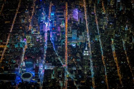 New York from 7,500 feet