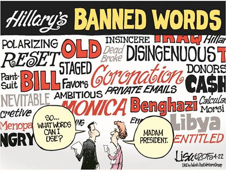 Clinton banned words