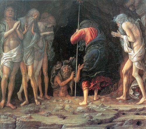DescentLimbo 1470, Andrea Mantegna