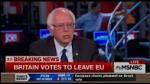 Sanders on brexit