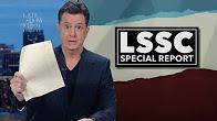 Colbert mocks maddow