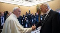 Pope trump 5 24 2017