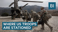US troops abroad