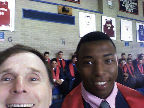 Tim graduation selfie 5-21-2015