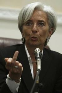 IMF head