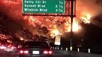 California Skirball fire