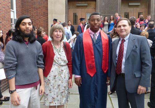 Tim stepinac graduation