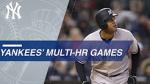 Yankee multi homer