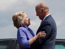 Biden clinton together