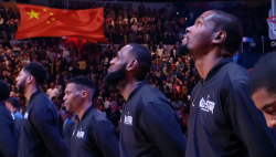 NBA chinese anthem