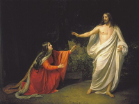 Mary magdalen Jesus appearance