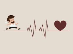 Heart disease runner