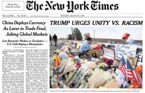Trump NYT storm