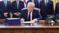 Trump signs stimulus