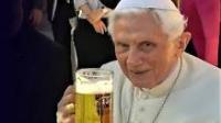 Pope benedict beer