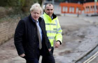 Boris johnson flooding