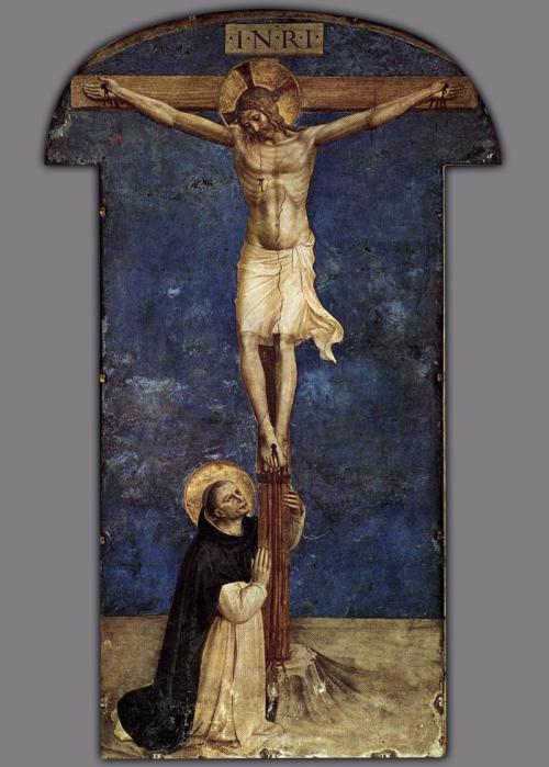Saint Dominic Adoring_the_Crucifixion_-_WGA00562