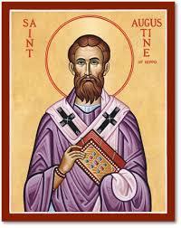 St augustine icon