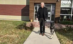 Biden dog walking