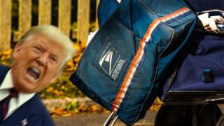 Trump rabid dog
