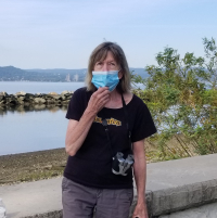 Brigid mask at croton landing