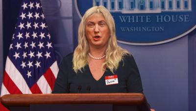 Trump identifies as woman