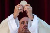 Pope francis communion