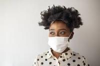 Face mask black girl