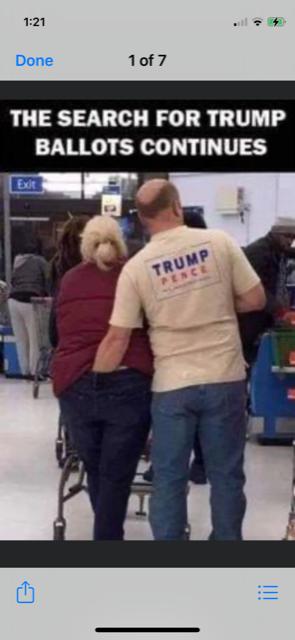 Trump voter search