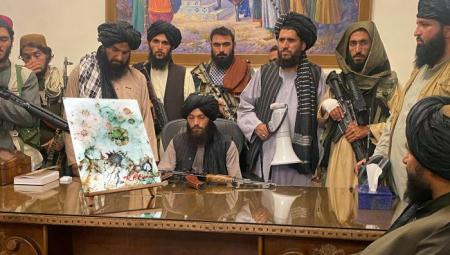 Taliban buys painting