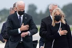 Biden checking watch 1